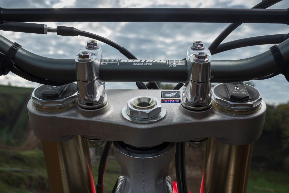 Honda CRF 250R horquilla