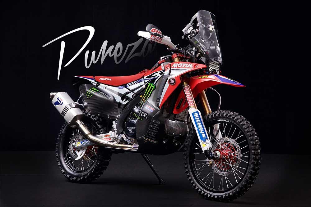 Honda CRF 450 Rally: La moto de Barreda