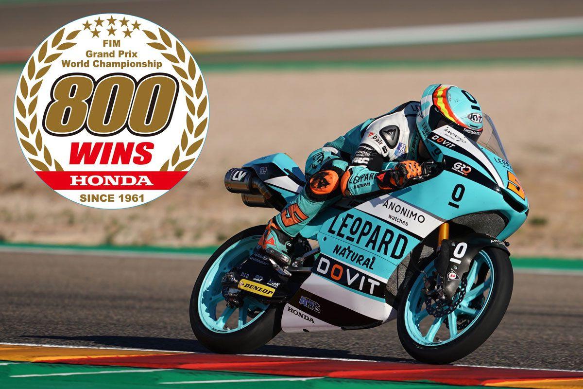 Honda 800 victorias en grandes premios