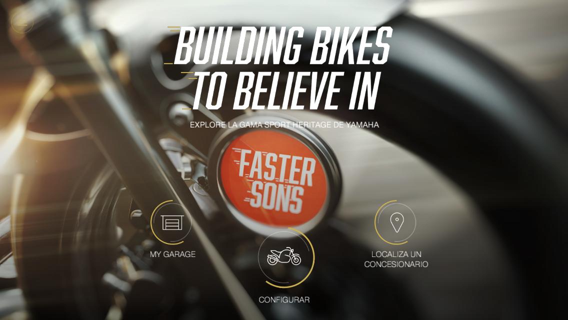 """Yamaha lanza My Garage, su nueva """"App Heritage"""""""