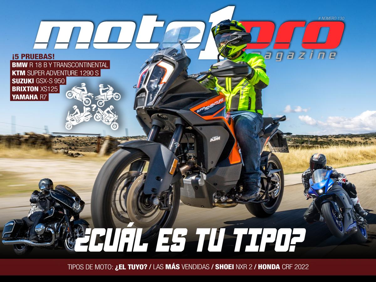 5 razones para leerte el número 130 de Moto1Pro Magazine