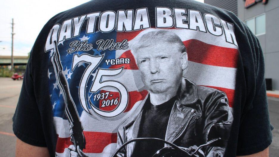 Biker Trump