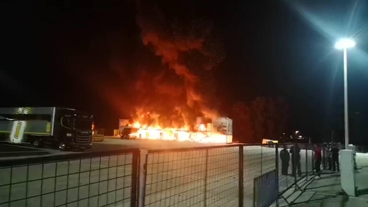 Incendio MotoE