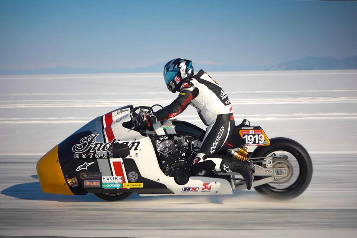 Indian Appaloosa Baikal Mile Ice Speed Festival