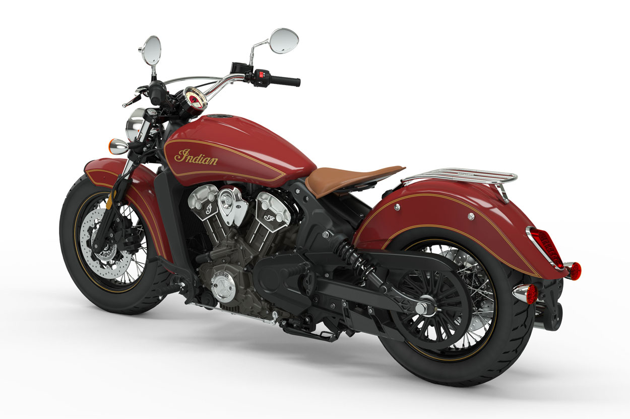 Indian Scout 100 Aniversario