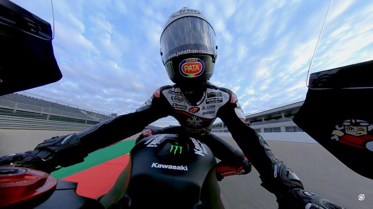 Súbete en una Superbike con Jonathan Rea