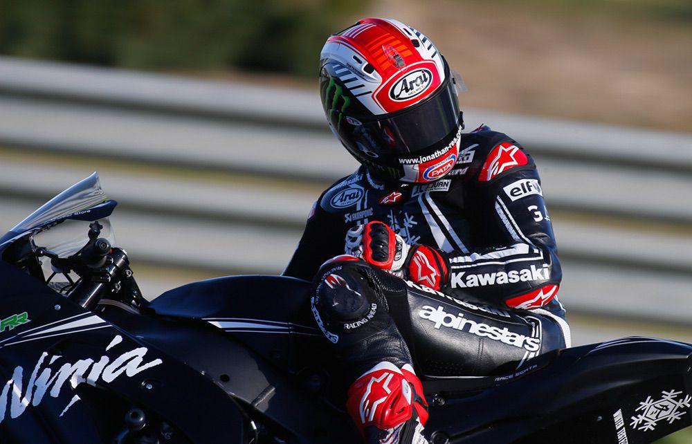 Jonathan Rea más rápido que las MotoGP