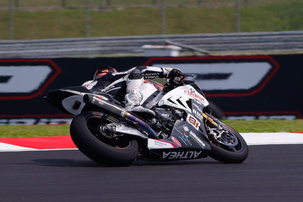 Jordi Torres, cuarto en SBK en Malasia con BMW