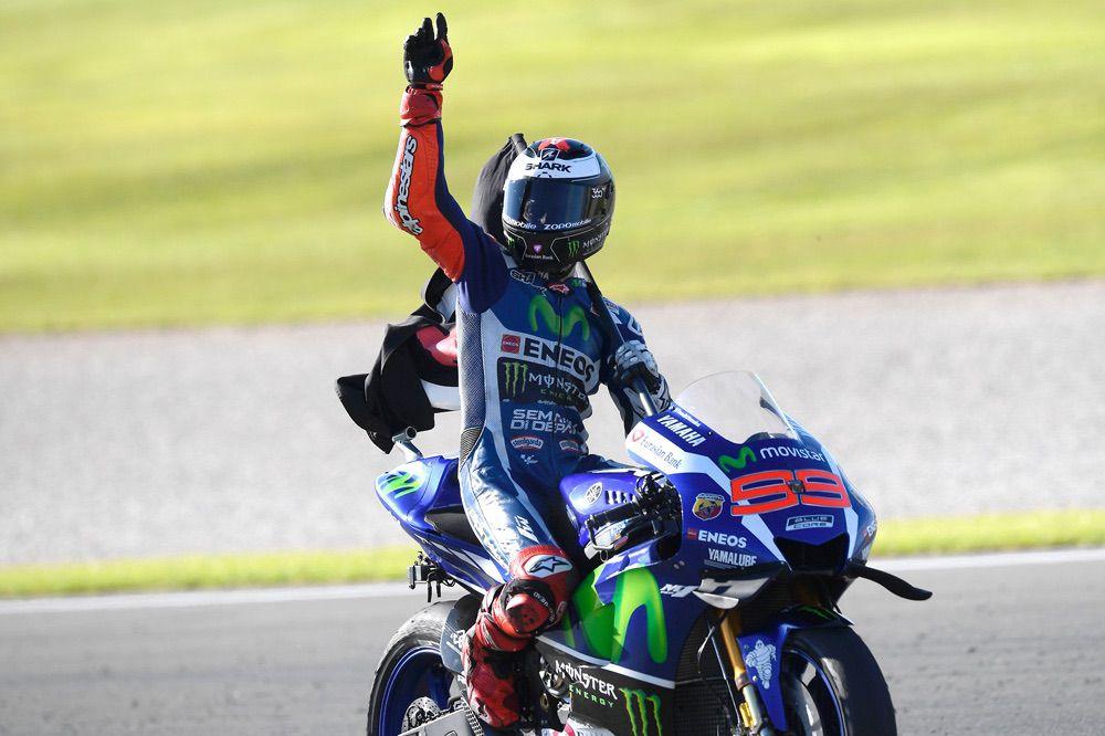Jorge Lorenzo se despidió de Yamaha MotoGP en el GP de Valencia