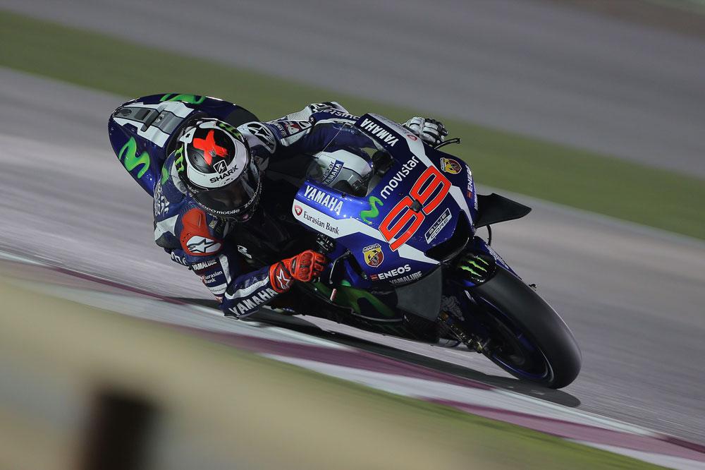 Jorge Lorenzo, entrenamientos en Qatar