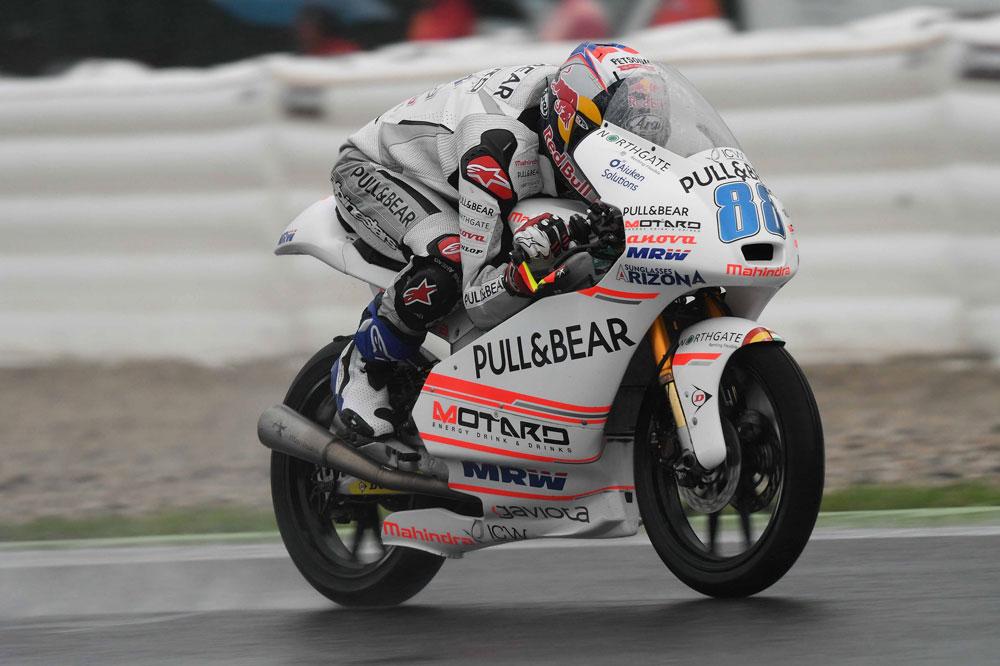 Jorge Martin fue segundo en el Gran Premio de Republica Checa