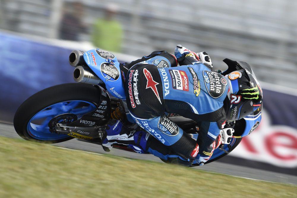 Jorge Navarro, perdió el podio en el GP de Jerez en Moto3