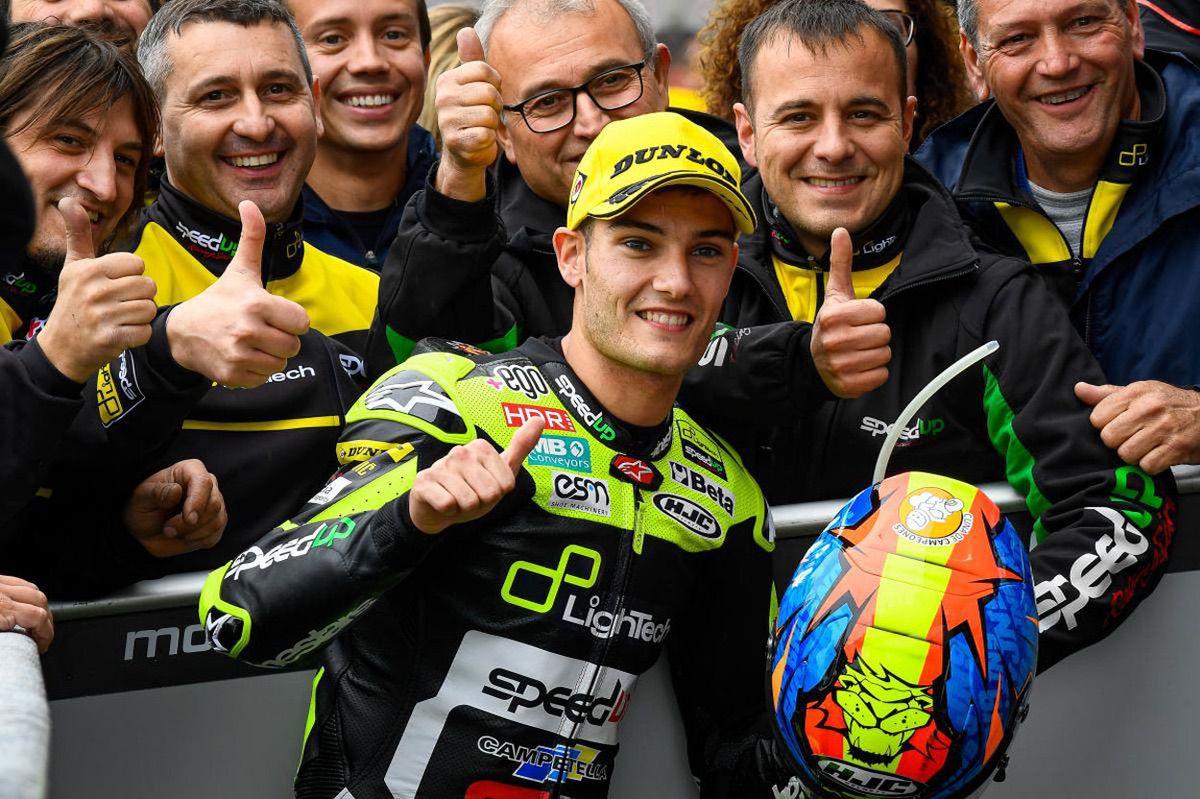 Jorge Navarro se ha hecho con su primera pole en Moto2  a pesar de caer en la Q2