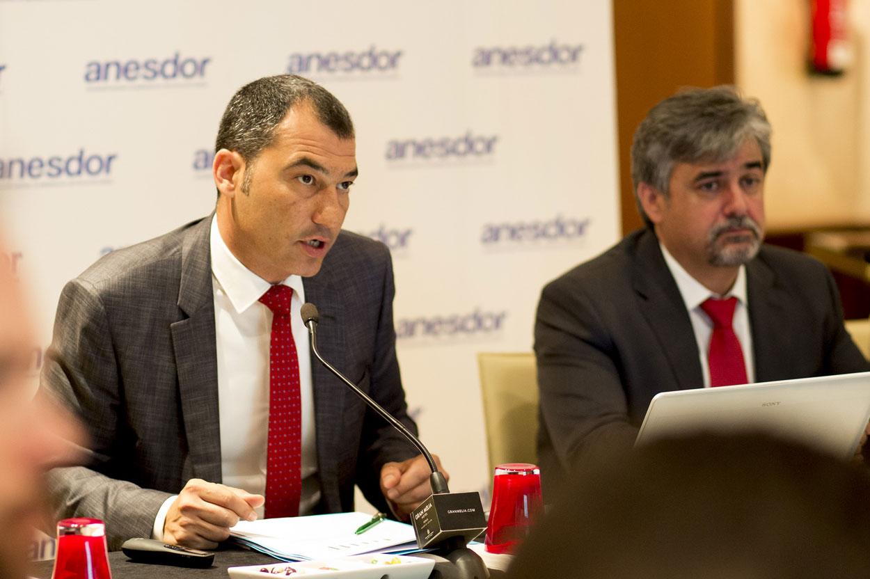 José María Riaño, secretario general de Anesdor