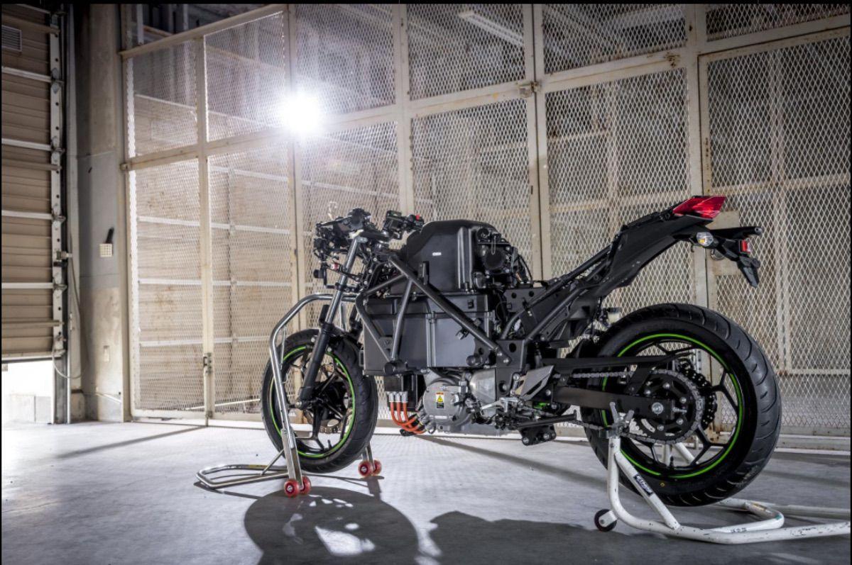El futuro verde de Kawasaki, sus motos serán eléctricas en 2035