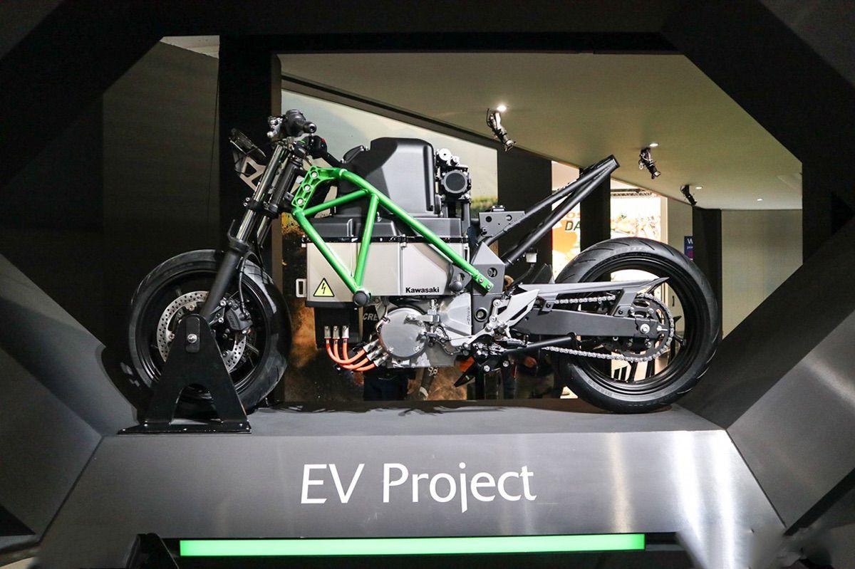 Kawasaki EV Project, la Ninja Electrica