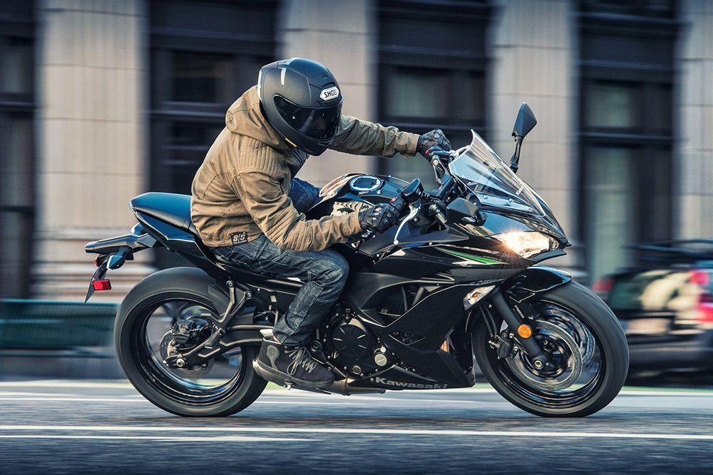 La Kawasaki Ninja 650 puede limitarse para el carnet A2