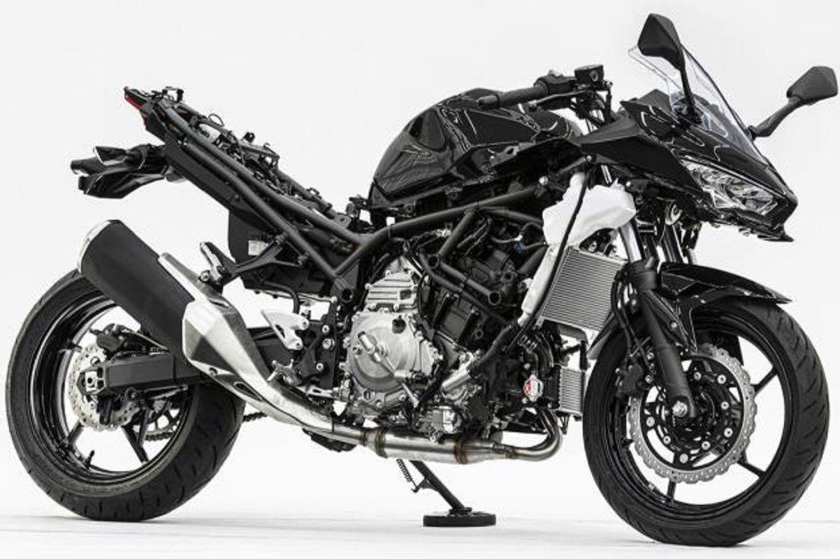 Kawasaki desvela su moto híbrida: la Ninja 400 del futuro