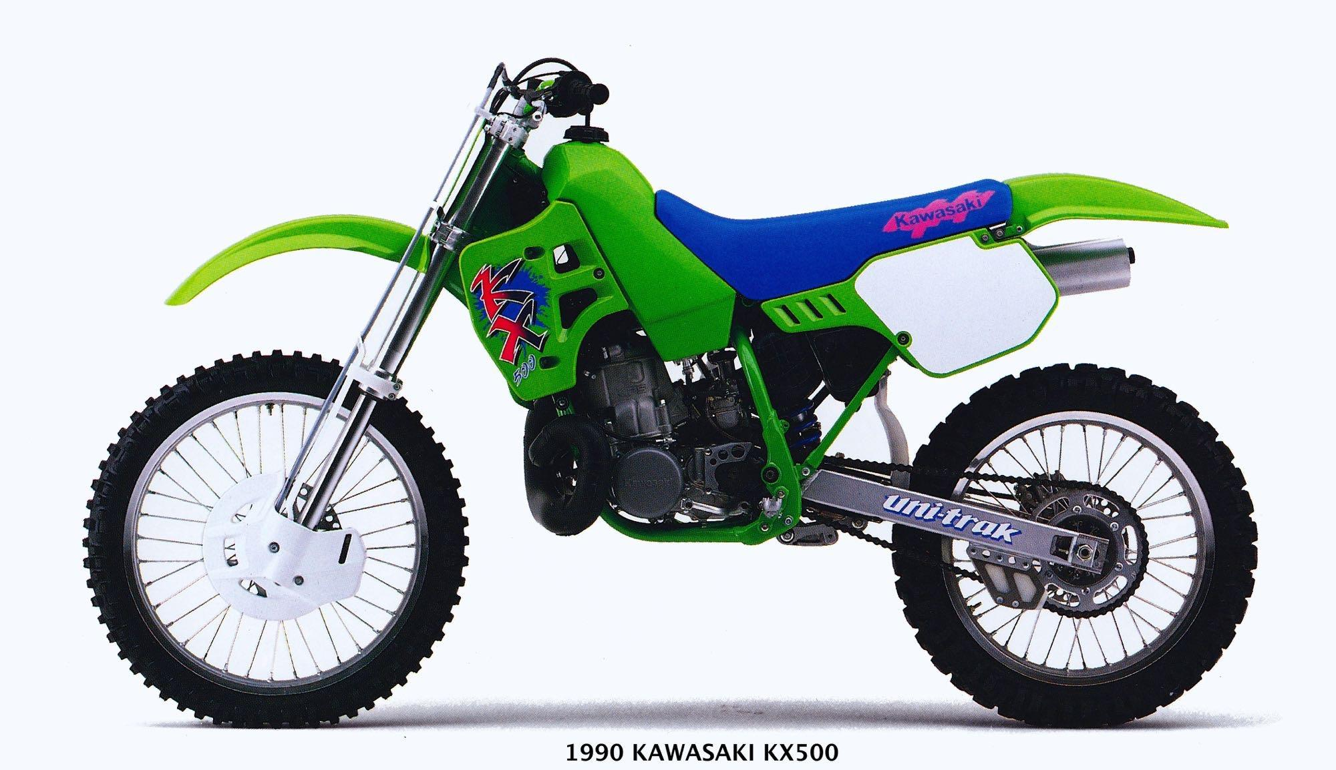 Kawasaki KX500: Rara avis