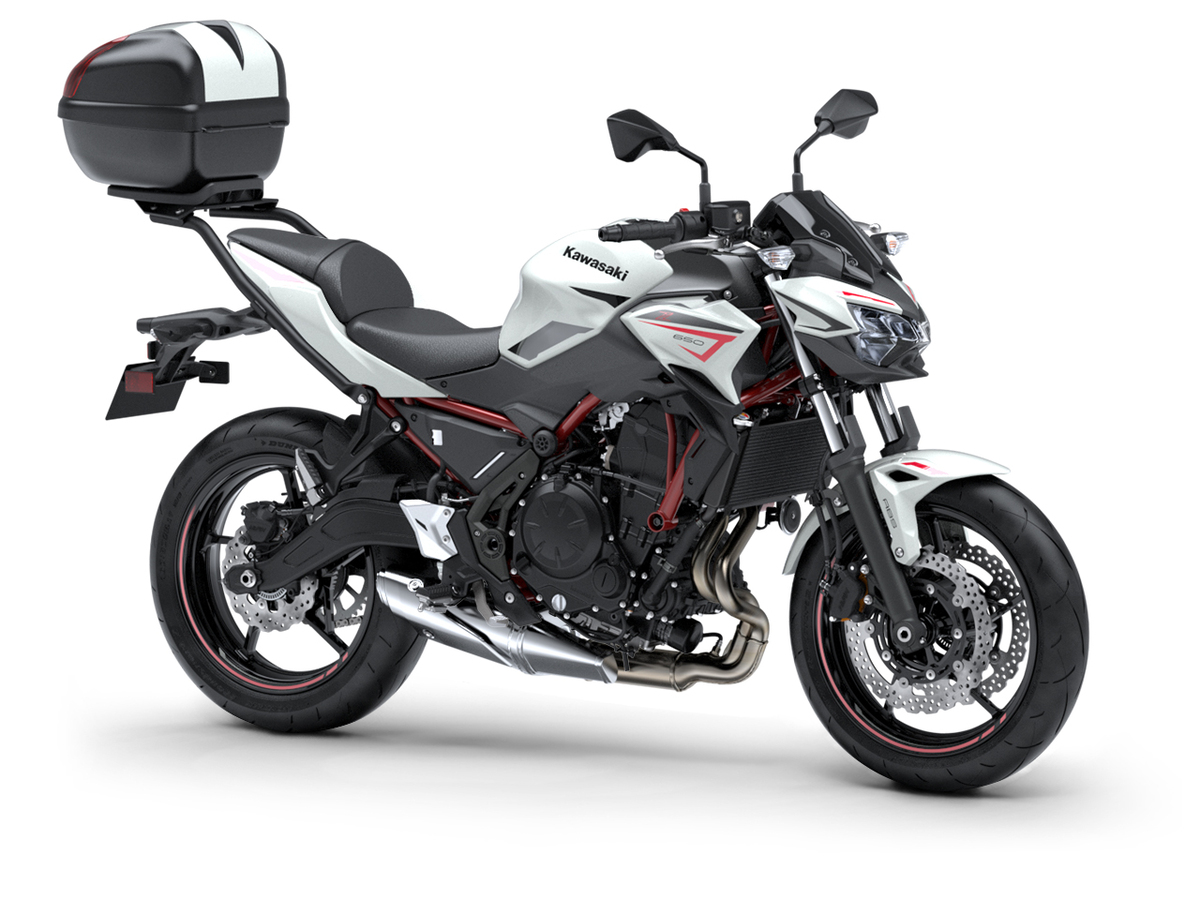 Kawasaki Z650 2022: nuevos colores