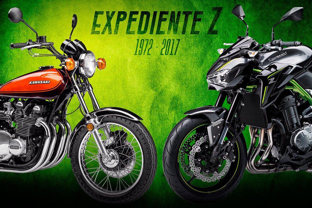 Historia de las Kawasaki Z: 1972- 2017