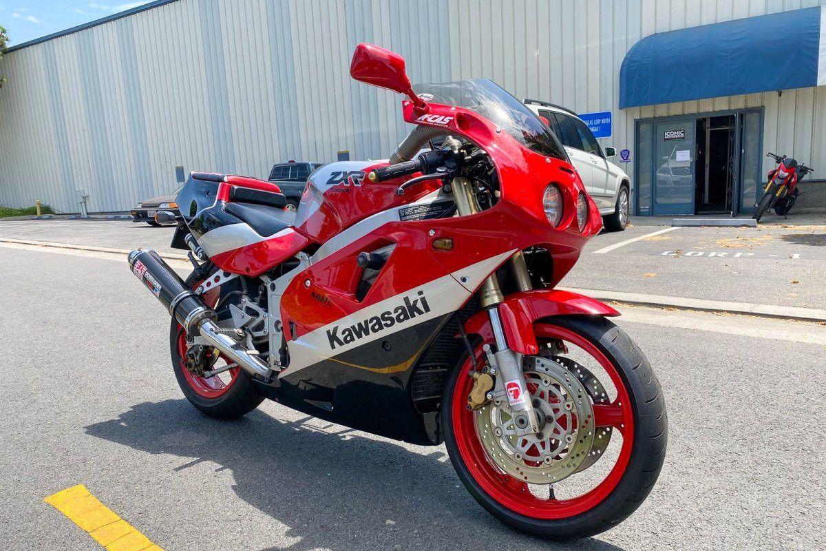 Moto de ensueño: Kawasaki ZXR 400 de 1990 por 3000 euros