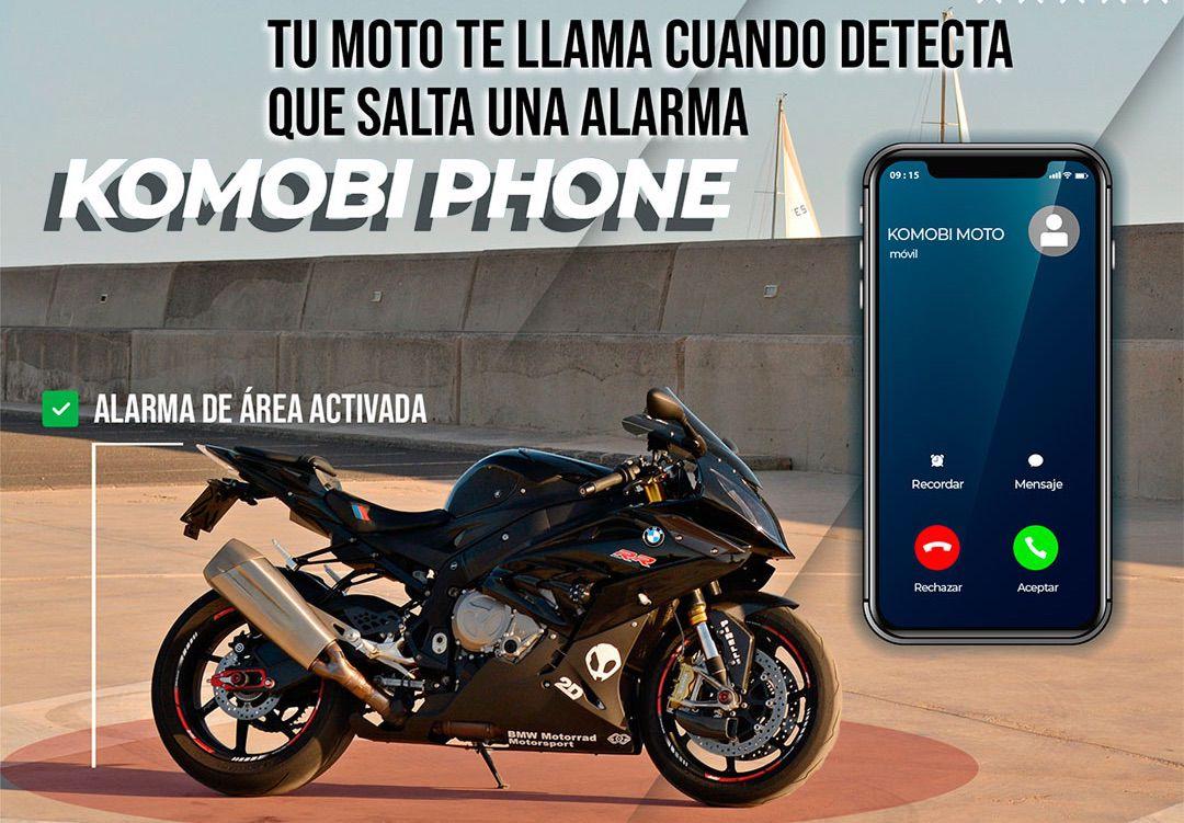 ¿Hola? Soy KOMOBI Phone y te están robando la moto