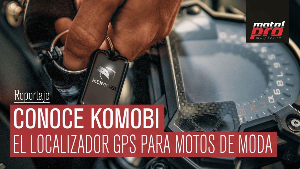 VÍDEO | Conoce Komobi: El localizador GPS para motos de moda