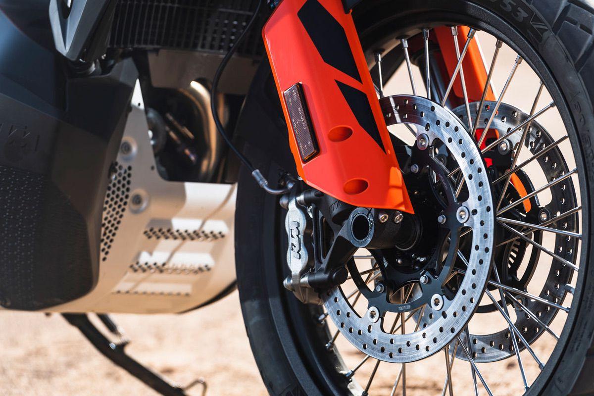 Frenos de la KTM 790 Adventure