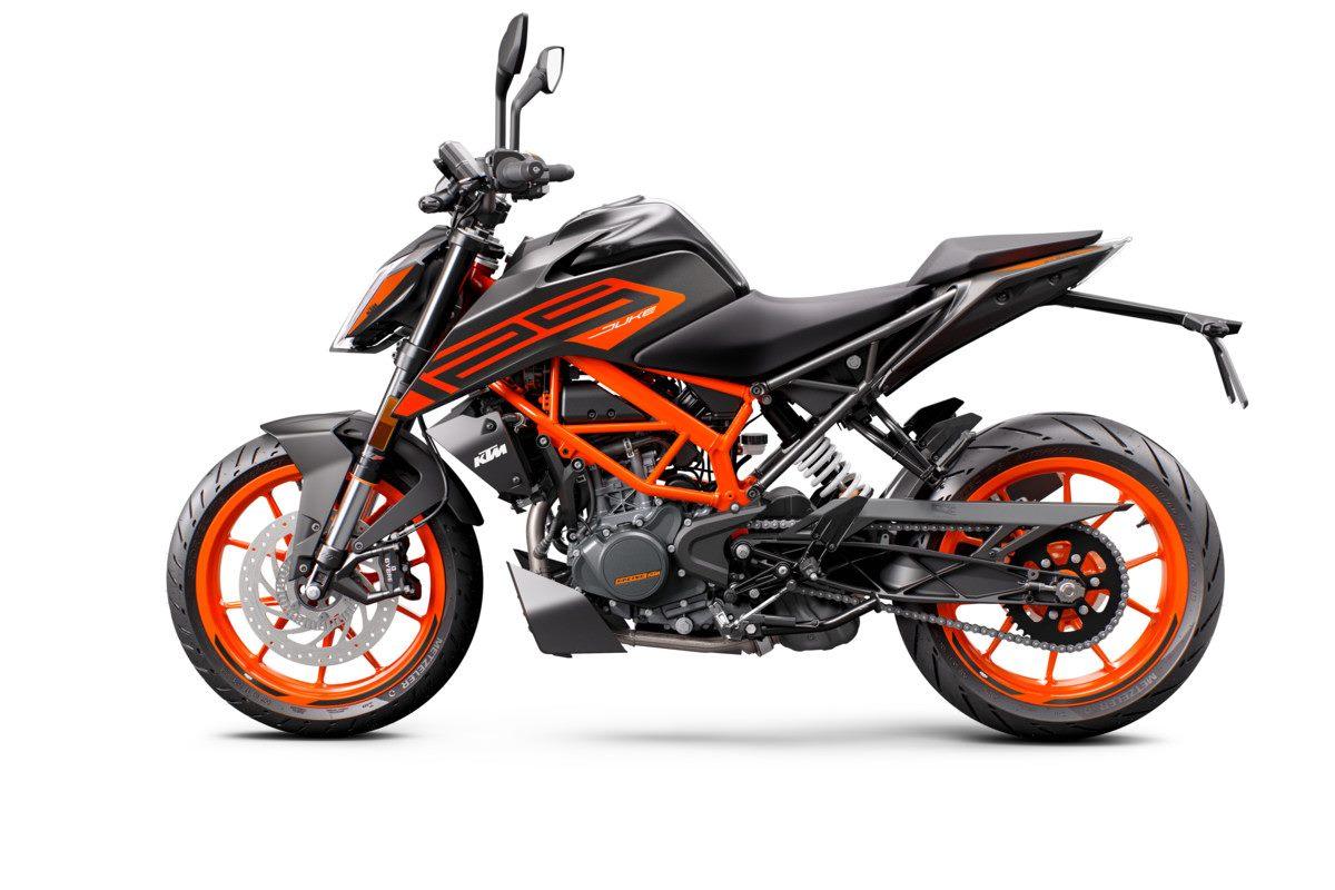 Nueva KTM 125 Duke 2021 negro