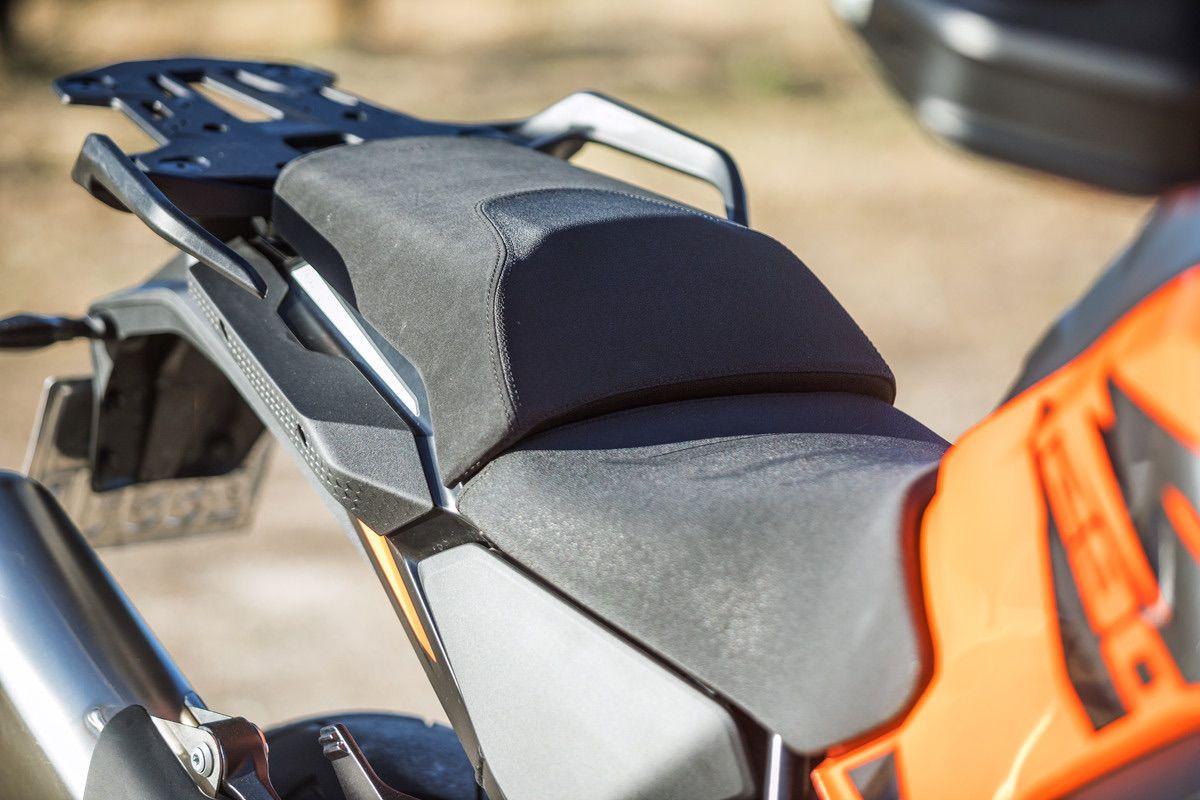 KTM 1290 S asientos