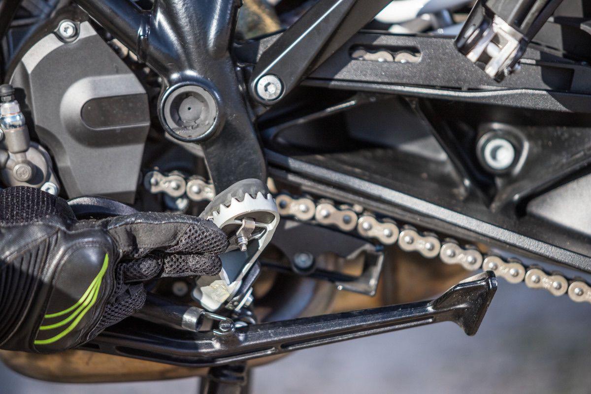 KTM 1290 S estriberas (goma desmontable)