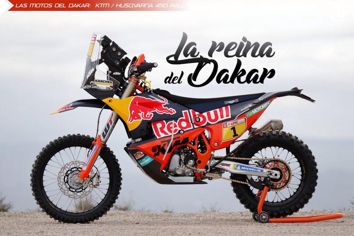 KTM 450 Rally Dakar 2018