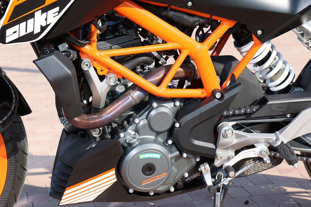 Motor KTM 390 Duke