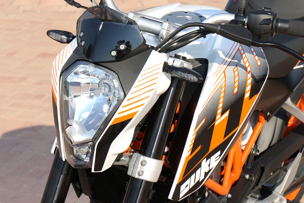 Suspensiones KTM 390 Duke