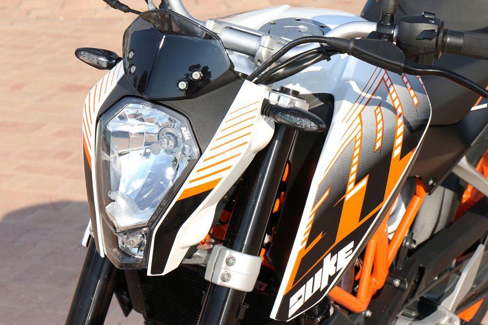 Suspensiones KTM 390 Duke