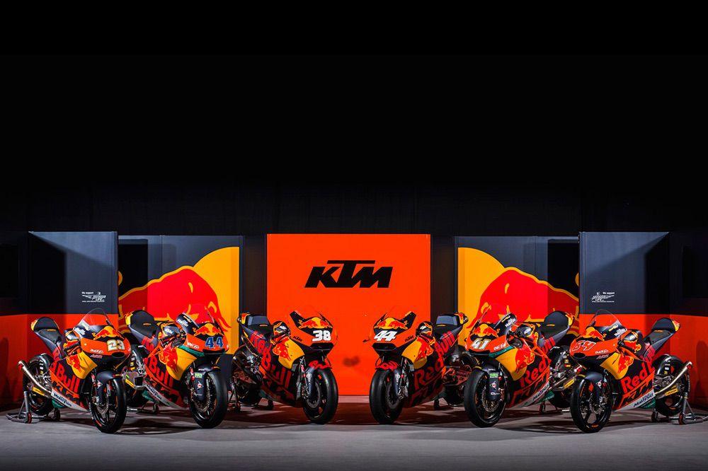 Equipo KTM de MotoGP