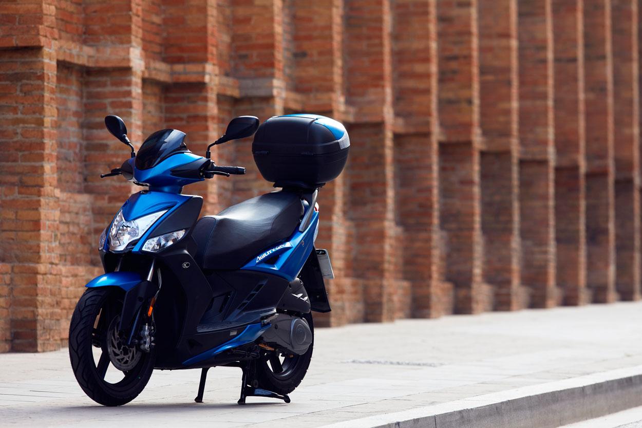 El KYMCO Agility City fue la moto más vendida de marzo de 2019