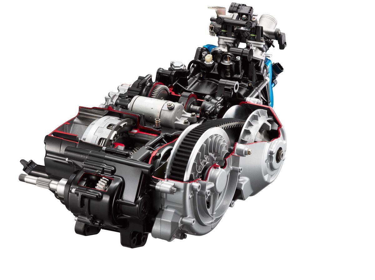 Prueba KYMCO AK 550: motor