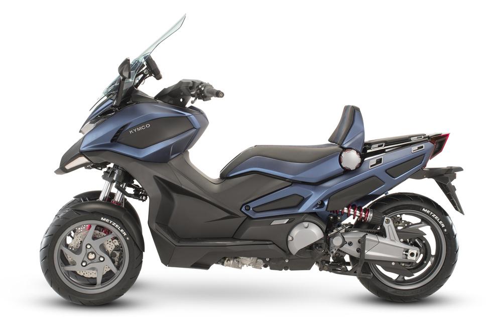 moto scooter de 3 ruedas
