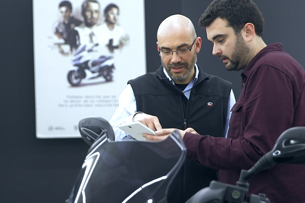 KYMCO Genius, financiacion y servicios digitales para motos y scooter