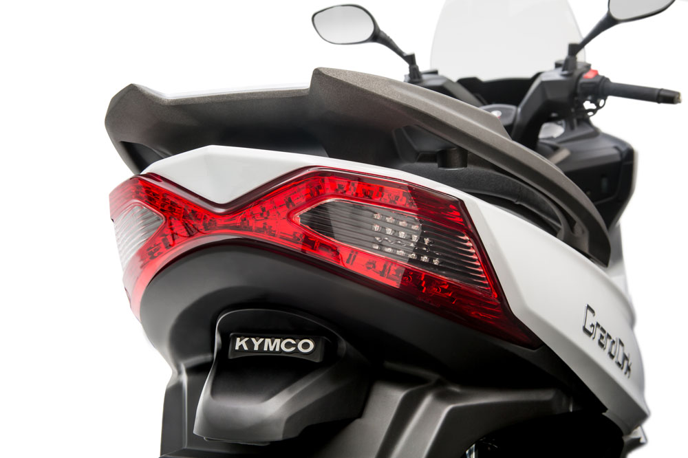 Trasera del KYMCO Grand Dink 2016