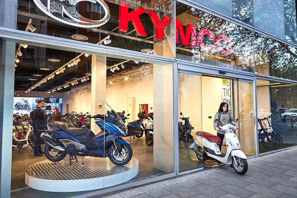 KYMCO Showroom Madrid