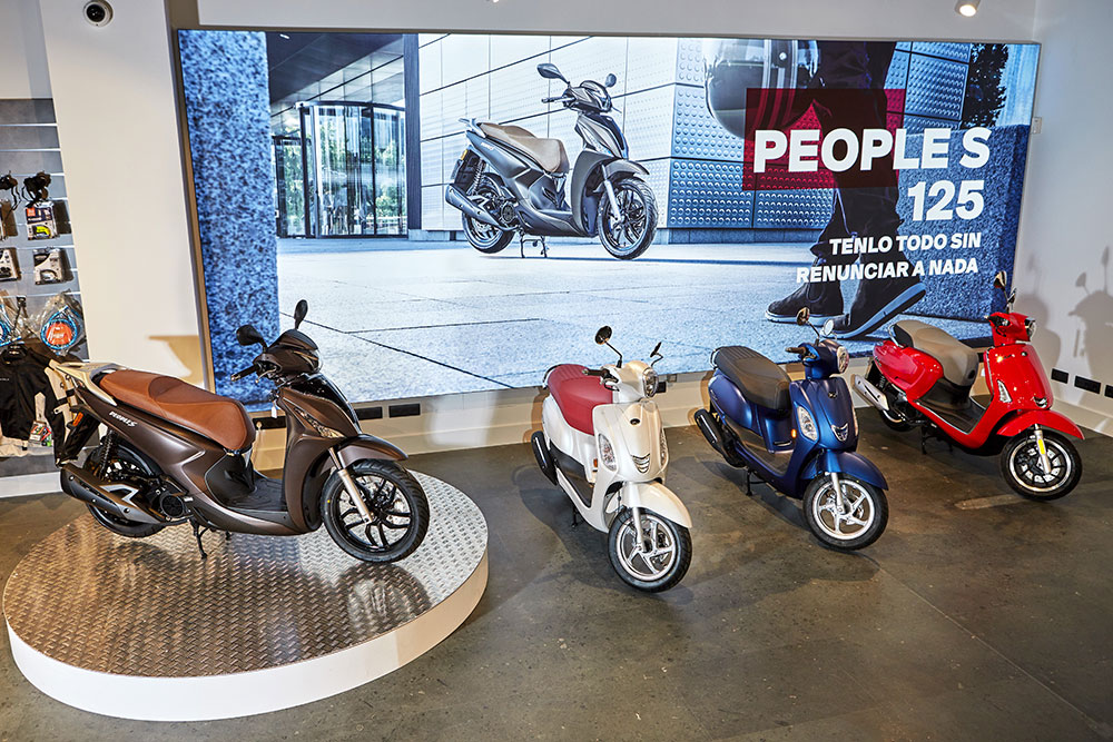 KYMCO Showroom Madrid