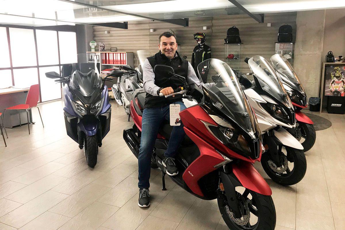 Manell Motor es el nuevo concesionario exclusivo KYMCO en La Coruña