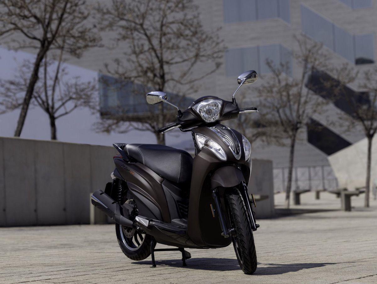 Kymco lanza el Miler 125 ABS, su nuevo scooter de rueda alta