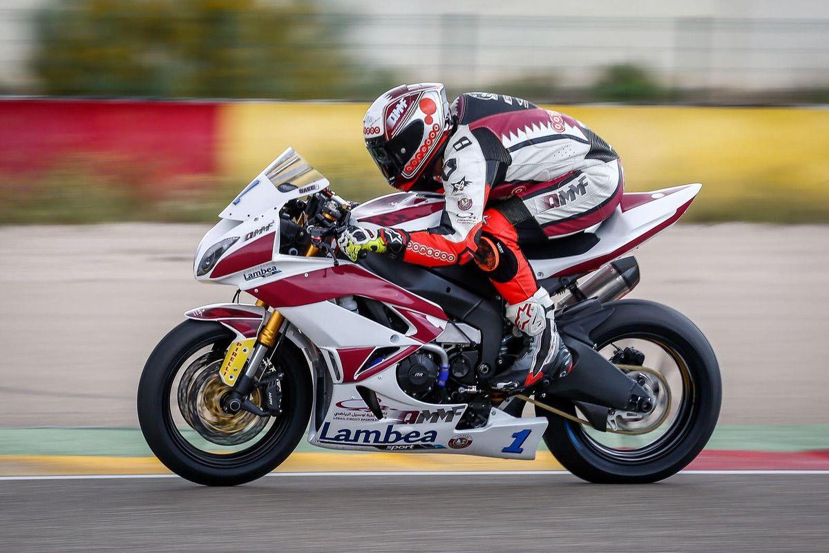 El QMMF Team sube al podio en Aragón