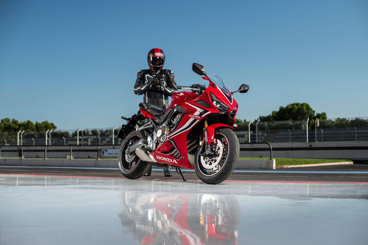 La Honda CBR 650 R es una de las mejores motos 2019
