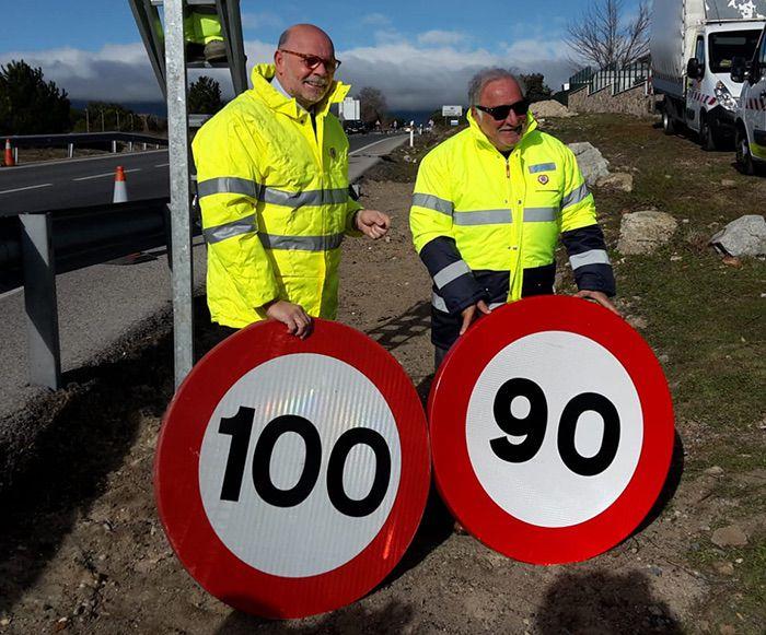 Nuevo limite de velocidad