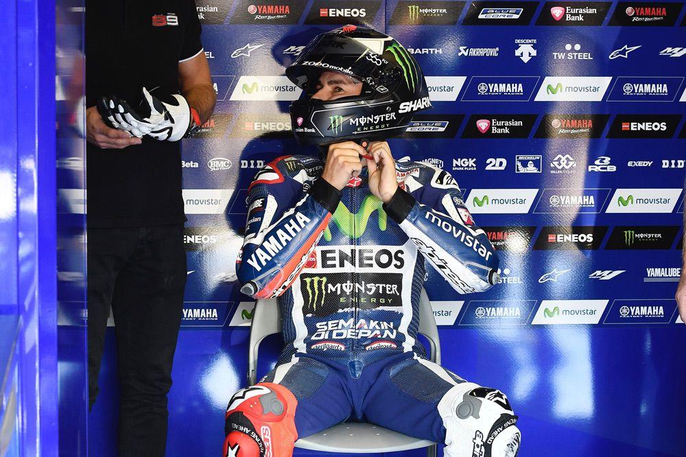 Jorge Lorenzo vuelve a Yamaha como piloto probador